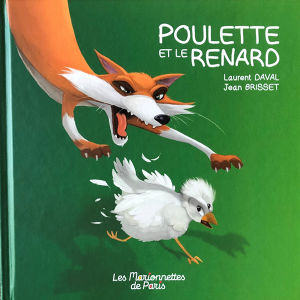 Couverture livre Poulette et le renard