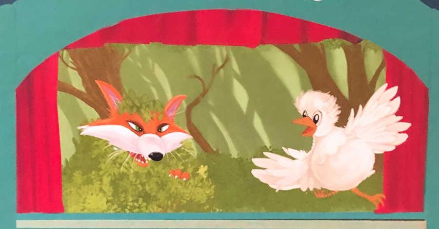 Poulette et le renard